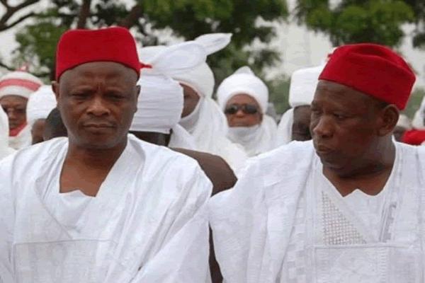 Sen. Rabiu Musa Kwankwaso and Gov Umar Ganduje