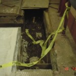 GSA HODT Washington DC Grating and Trench Cover Replacement, and Replace Blow down Pipe throughout Basement In Trench