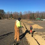 C/249 Grounding Grid Installation at motor pool at the corner of Pohick and Theote Roads on Fort Belvoir Va.