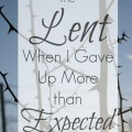 As a new Catholic, my first Lent was harder than I expected.