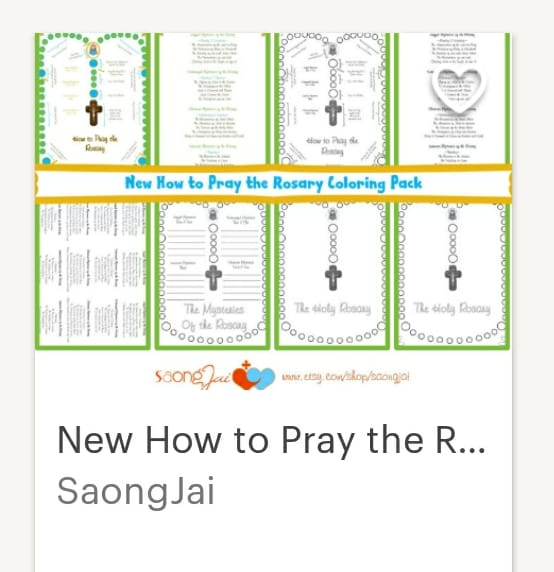 image relating to How to Pray the Rosary for Kids Printable named How towards Pray the Rosary - with a Giveaway! Eco-friendly Catholic