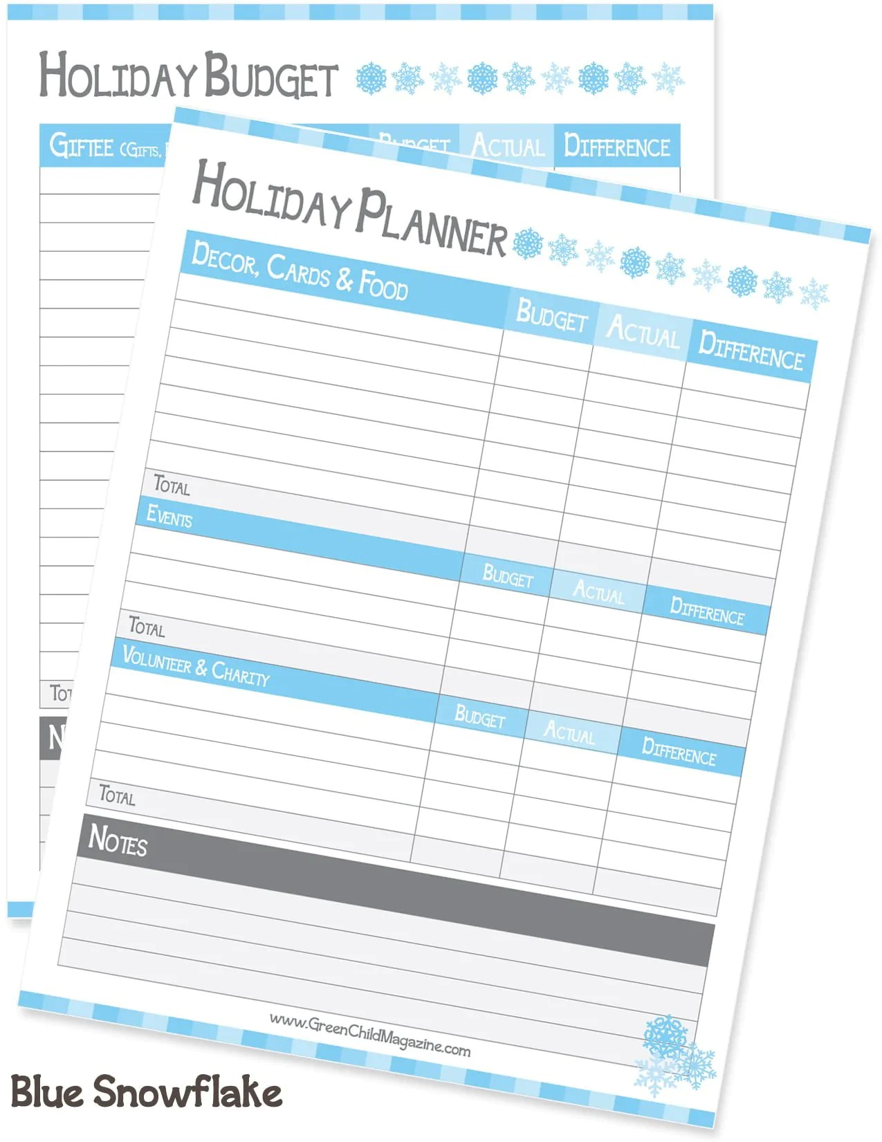 The Ultimate Holiday Planner Free Printable