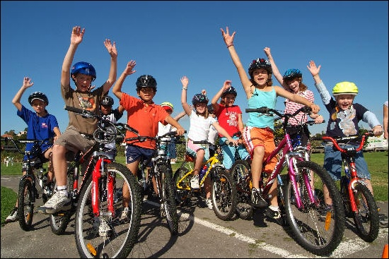 Image result for kids on bikes