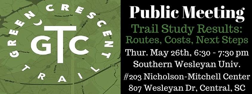 Green Crescent Trail Public Meeting