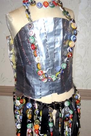 bottle cap dress 3