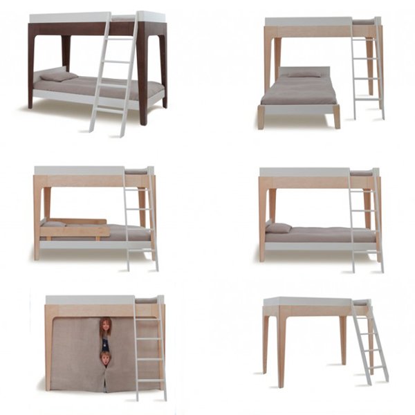 oeuf perch bunk bed, special for your children's bedroom - green
