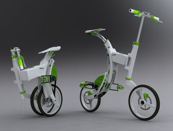grasshoper foldable electric bike