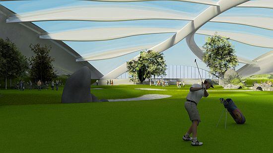 indoor golf arena zwarts jansma 1