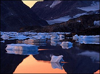 melting ice in greenland 9