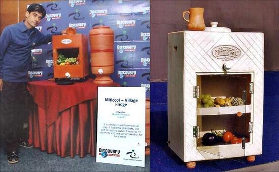 mitticool clay refrigerator