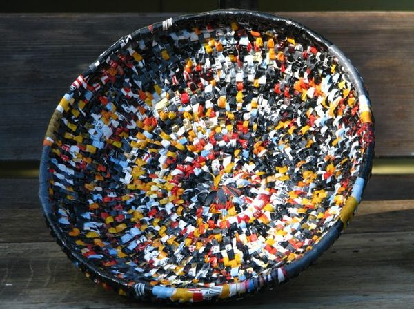 recycled plastic bag basket 3