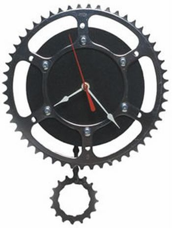 recycled rubber clocks