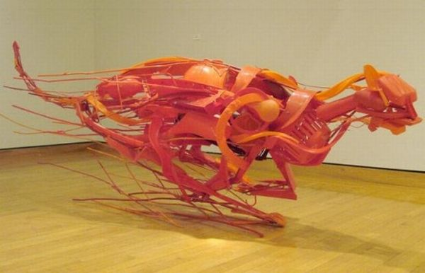 Recycled Plastic Sculptures