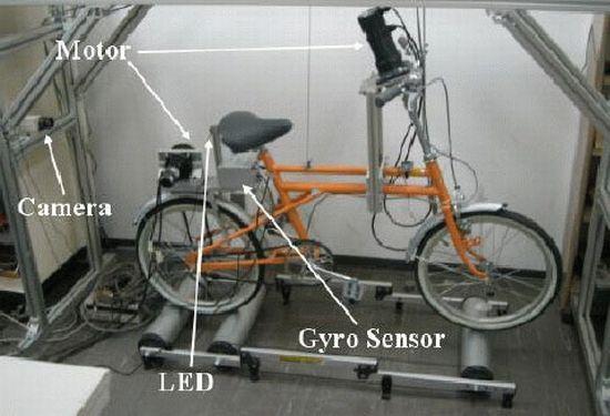 self stabilizing bike