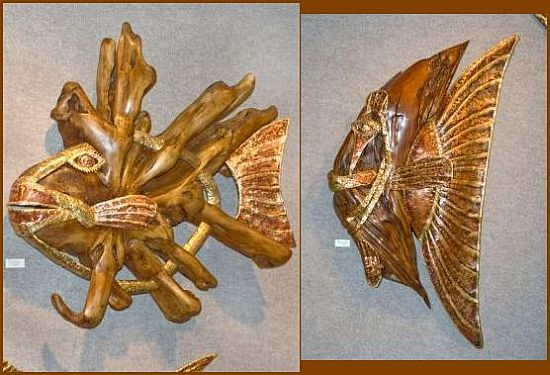 shaw lakey reclaimed driftwood sculpture 1