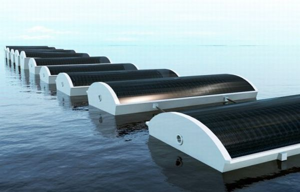 Solar Water Desalination System For Data Acquisition System : Five solar powered water desalination systems green