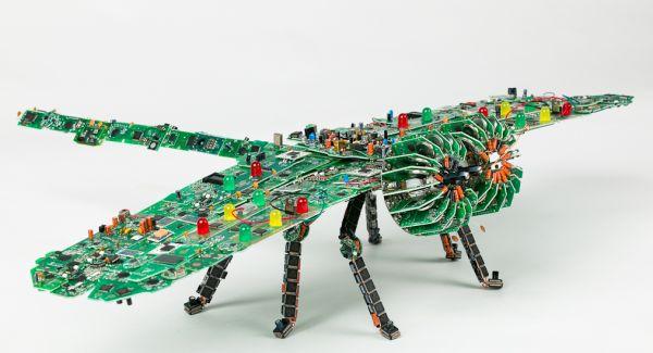 Steven Rodrig electrical circuits art