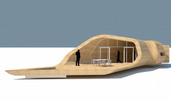 Sustainable Bamboo House