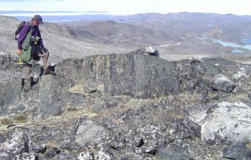 the rokc complex was found in greenland 9