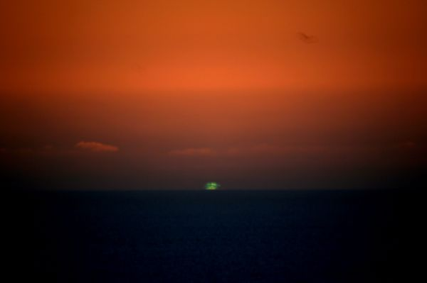 The green flash