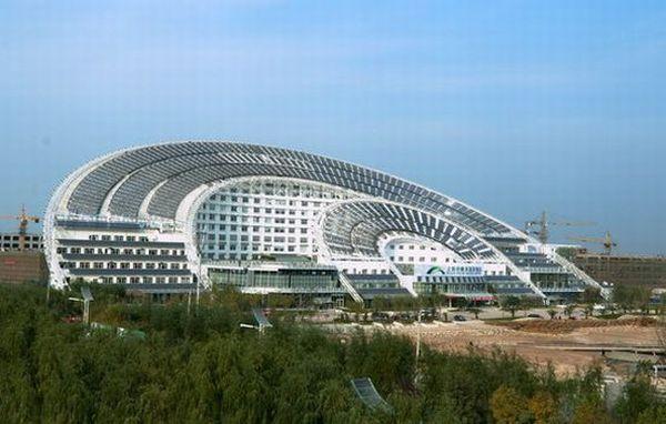 World's largest solar building