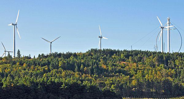Vertical axis wind turbines (1)