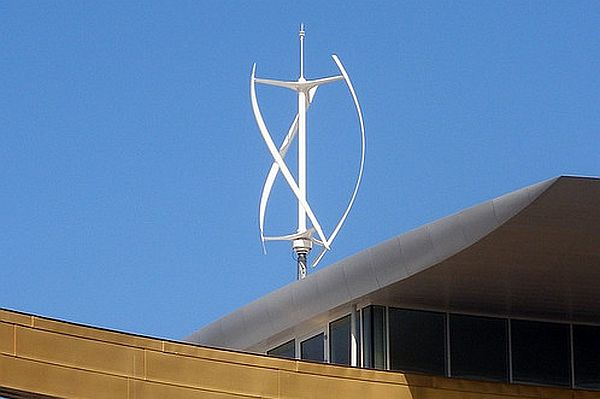 Vertical axis wind turbines (3)