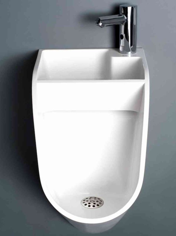 Urinal and Sink Combo
