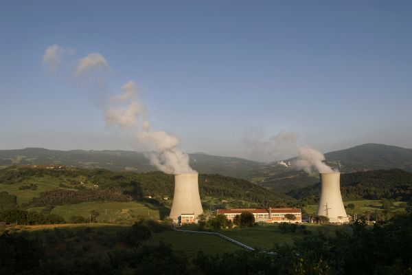 Larderello Geothermal Complex, Italy