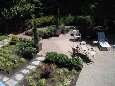 Concrete Paver Terrace