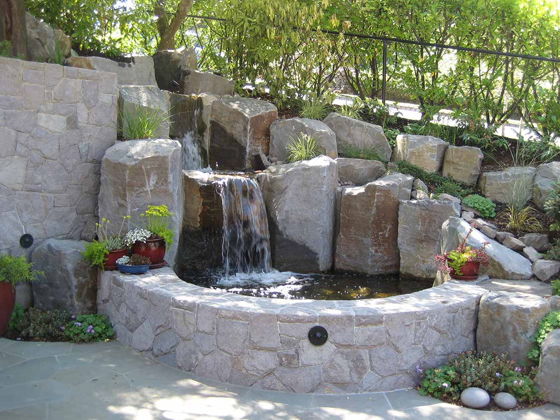 Water Features Green Earth Landscaping In Hillsboro Oregon