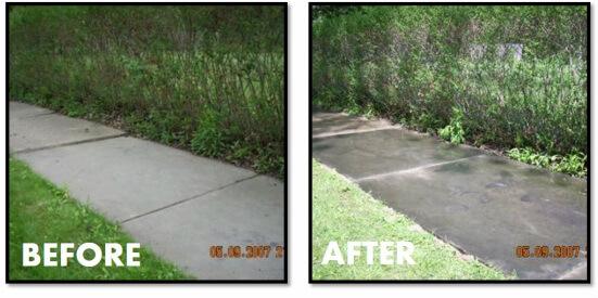 Sandstone Sidewalk Repair