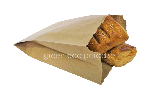 Pack those pastries and puffs in brown bags.