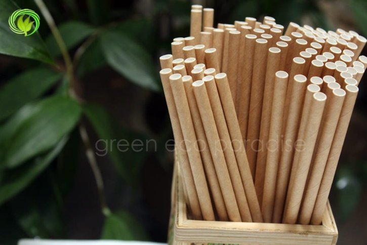 Disposable straws can be attractive too.