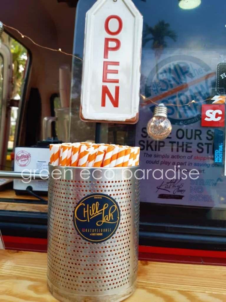 Paper Straws for Food Trucks