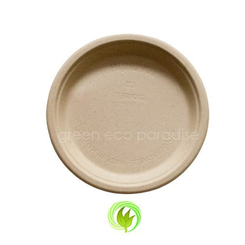 Biodegradable plate