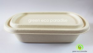 Lunch box packaging for cafes