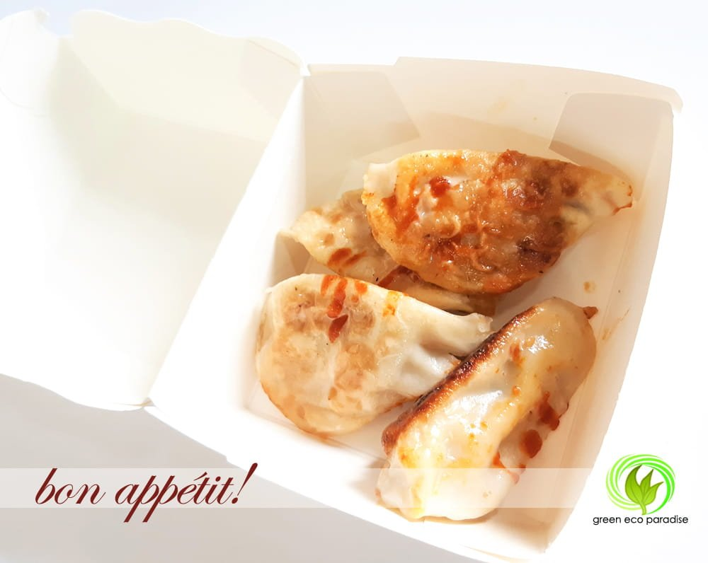 Pack up some gyozas