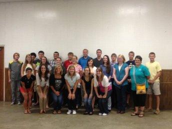 2013 Foundation Scholarship Receipients