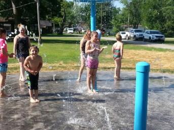 Splash Pad at Jasonville City Park