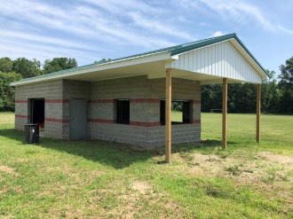 New Concessions/Storage building for the Greene County Soccer Association