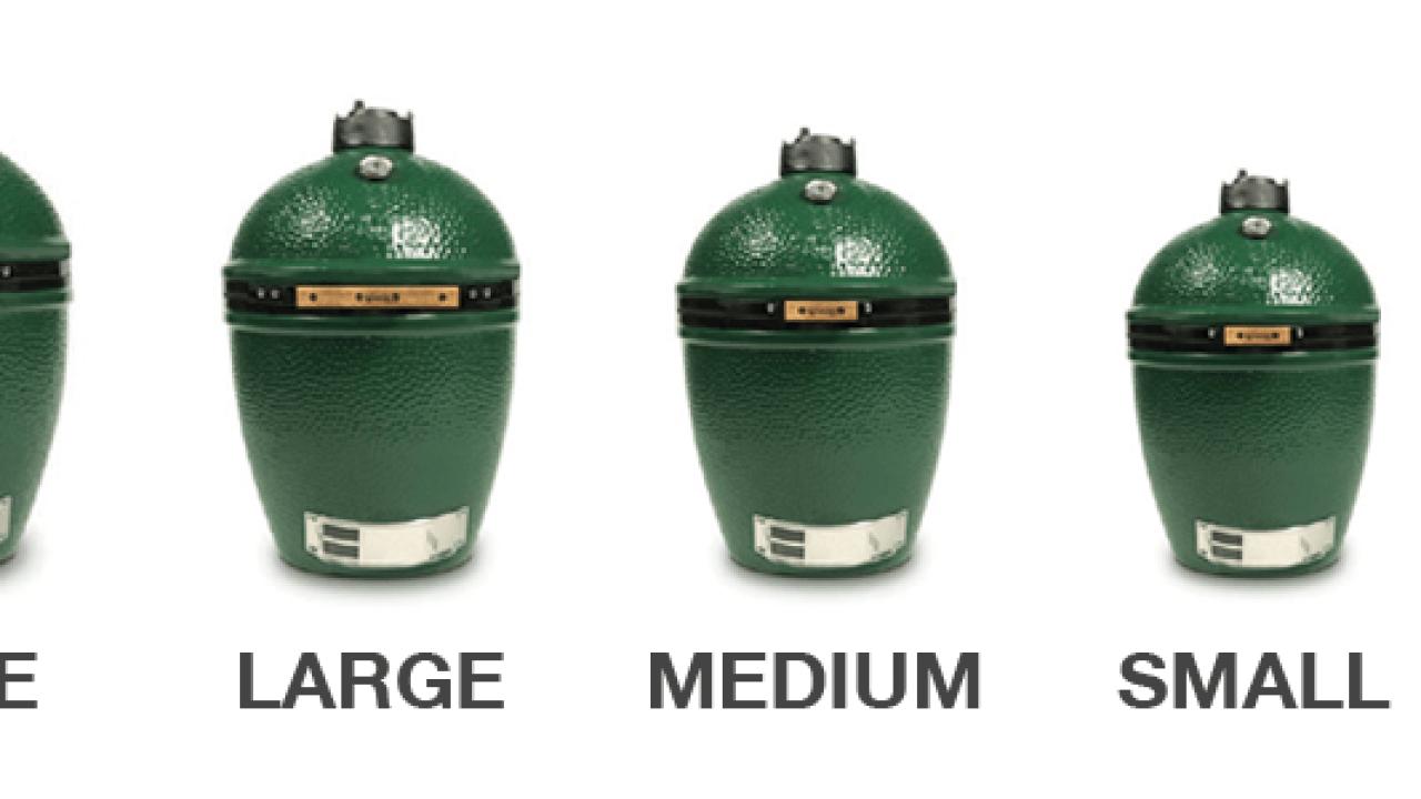Big Green Egg Sizes   Big Green Egg Blog