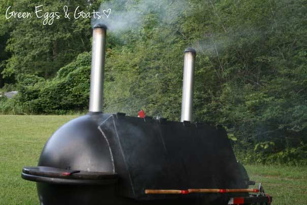Big custom BBQ Smoker