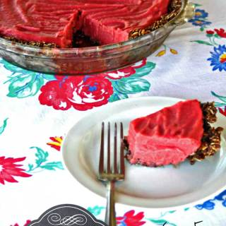 Frozen Strawberry Smoothie Pie Recipe