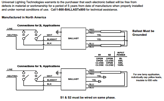 Universal B214PU115S50A PRS Wiring Diagrams?resize\\\\\\\\\\\\\\\=528%2C325 t12 ballast wiring diagram & fulham workhorse whcg5 120 t12 rs programmed start ballast wiring diagram at soozxer.org