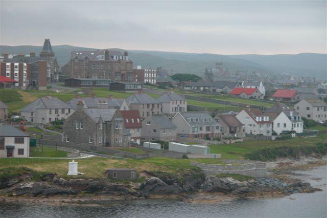 Lerwick, Shetland. Photo by Eric. Wikimedia Commons.