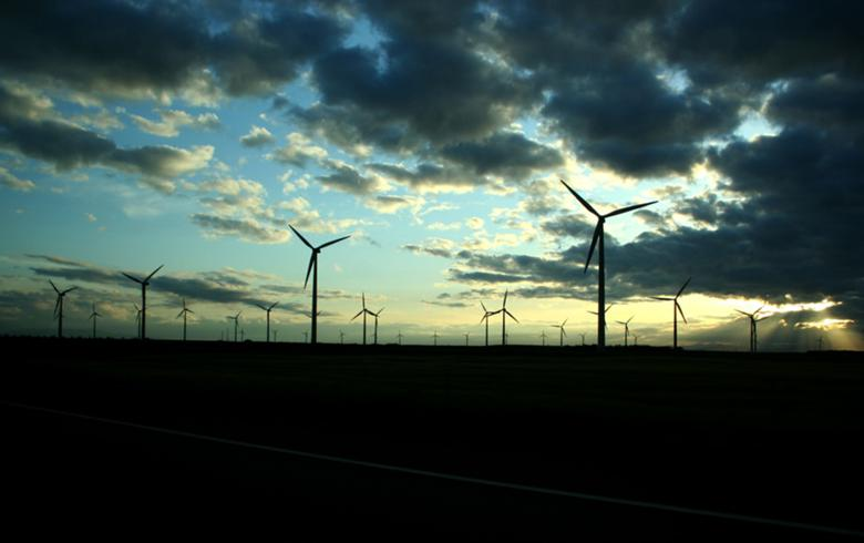 Wind turbines in Spain. Author: petter palander. License: Creative Commons, Attribution 2.0 Generic.