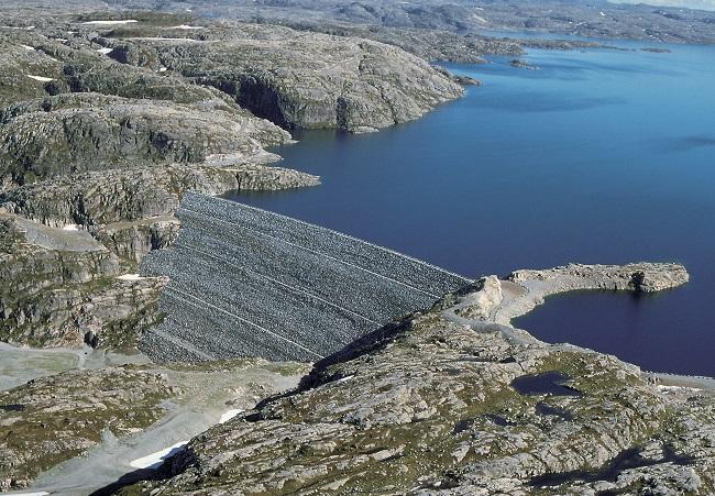 Norwegian dam. Statkraft photo.