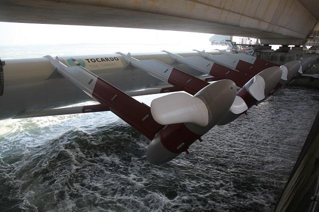 Tocardo turbines (Tocardo image)
