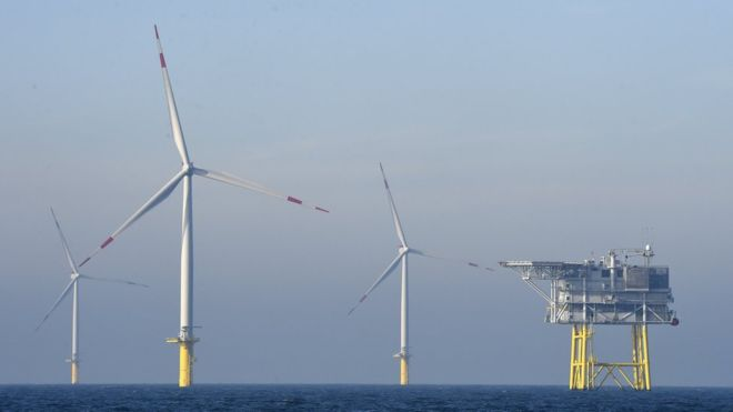 Offshore wind power (Getty Images)